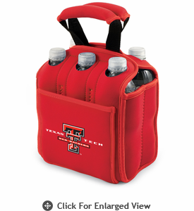 Picnic Time Six Pack  Texas Tech Red Raiders