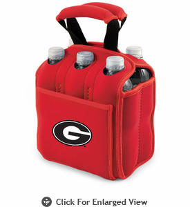 Picnic Time Six Pack  University of Georgia Bulldogs