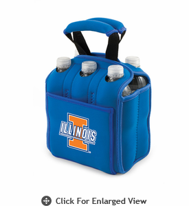 Picnic Time Six Pack  University of Illinois Fighting Illini