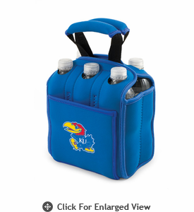 Picnic Time Six Pack  University of Kansas Jayhawks