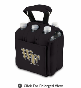 Picnic Time Six Pack  Wake Forest Demon Deacons