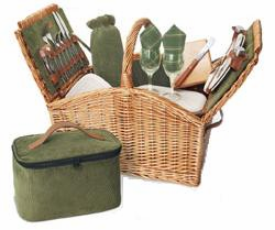 Picnic Time� Somerset Picnic Basket For 2