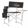 Picnic Time Sports Chair - Black Digital Print East Carolina Pirates