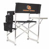 Picnic Time Sports Chair - Black Digital Print Oregon State Beavers