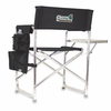 Picnic Time Sports Chair - Black Embroidered Coastal Carolina Chanticleers