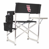 Picnic Time Sports Chair - Black Embroidered University of South Carolina Gamecocks