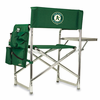 Picnic Time Sports Chair - Hunter Green  Oakland Athletics