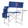 Picnic Time Sports Chair - Navy Blue Boston Red Sox