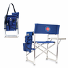 Picnic Time Sports Chair - Navy Blue Chicago Cubs