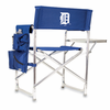 Picnic Time Sports Chair - Navy Blue Detroit Tigers