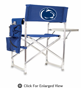 Picnic Time Sports Chair - Navy Blue Digital Print Penn State Nittany Lions