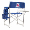 Picnic Time Sports Chair - Navy Blue Digital Print University of Arizona Wildcats