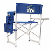 Picnic Time Sports Chair - Navy Blue Embroidered BYU Cougars