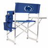 Picnic Time Sports Chair - Navy Blue Embroidered Penn State Nittany Lions