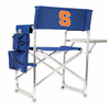 Picnic Time Sports Chair - Navy Blue Embroidered Syracuse University Orange