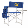 Picnic Time Sports Chair - Navy Blue Embroidered UC Berkeley Golden Bears