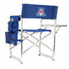 Picnic Time Sports Chair - Navy Blue Embroidered University of Arizona Wildcats