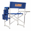 Picnic Time Sports Chair - Navy Blue Embroidered University of Illinois Fighting Illini
