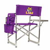 Picnic Time Sports Chair - Purple Digital Print LSU Tigers