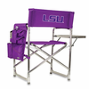 Picnic Time Sports Chair - Purple Embroidered LSU Tigers