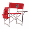 Picnic Time Sports Chair - Red Embroidered Stanford University Cardinal