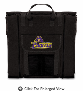 Picnic Time Stadium Seat - Black East Carolina Pirates