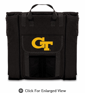 Picnic Time Stadium Seat - Black Georgia Tech Yellow Jackets