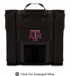 Picnic Time Stadium Seat - Black Texas A & M Aggies