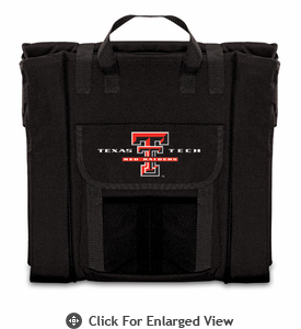 Picnic Time Stadium Seat - Black Texas Tech Red Raiders