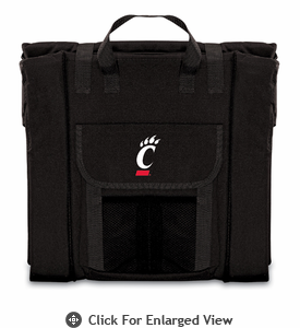 Picnic Time Stadium Seat - Black University of Cincinnati Bearcats