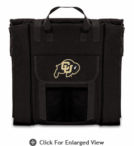 Picnic Time Stadium Seat - Black University of Colorado Buffaloes