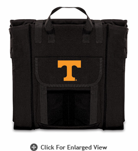 Picnic Time Stadium Seat - Black University of Tennessee Volunteers