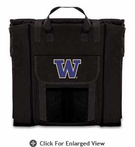 Picnic Time Stadium Seat - Black University of Washington Huskies