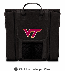 Picnic Time Stadium Seat - Black Virginia Tech Hokies
