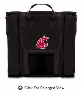 Picnic Time Stadium Seat - Black Washington State Cougars