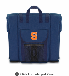Picnic Time Stadium Seat - Navy Syracuse University Orange