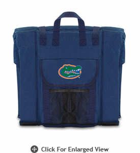 Picnic Time Stadium Seat - Navy University of Florida Gators