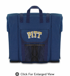 Picnic Time Stadium Seat - Navy University of Pittsburgh Panthers