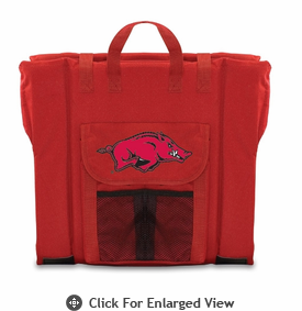 Picnic Time Stadium Seat - Red University of Arkansas Razorbacks