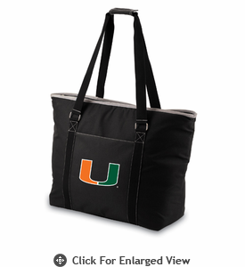 Picnic Time Tahoe - Black University of Miami Hurricanes