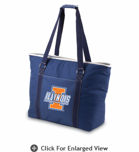 Picnic Time Tahoe - Navy Blue University of Illinois Fighting Illini