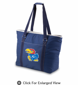 Picnic Time Tahoe - Navy Blue University of Kansas Jayhawks
