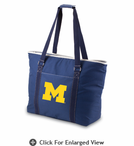 Picnic Time Tahoe - Navy Blue University of Michigan Wolverines