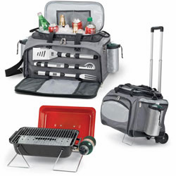 Picnic Time� The Vulcan Tailgating Cooler And Grill Tote