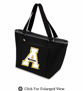 Picnic Time Topanga Digital Print - Black Tote Appalachian State Mountaineers