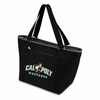 Picnic Time Topanga Digital Print - Black Tote Cal Poly Mustangs