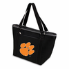 Picnic Time Topanga Digital Print - Black Tote Clemson University Tigers