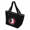 Picnic Time Topanga Digital Print - Black Tote Florida State Seminoles
