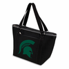 Picnic Time Topanga Digital Print - Black Tote Michigan State Spartans
