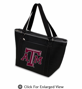 Picnic Time Topanga Digital Print - Black Tote Texas A & M Aggies